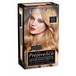 """Краска для волос L'Oreal Preference 8.32 """"Берлин"""" светло-русый золотисто-перламутровый"""