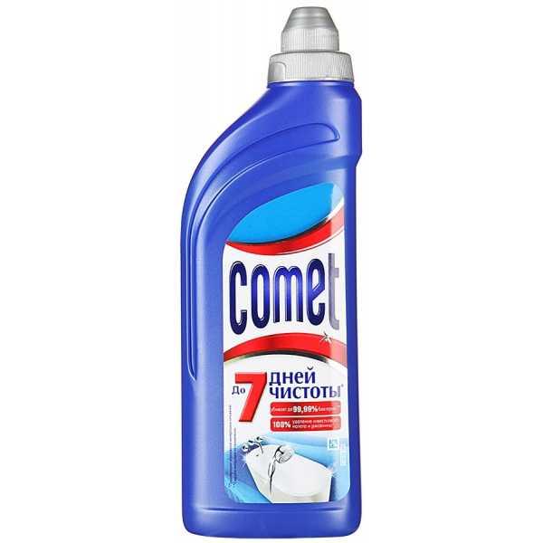 Гель чистящий Comet для ванной комнаты, 500 мл