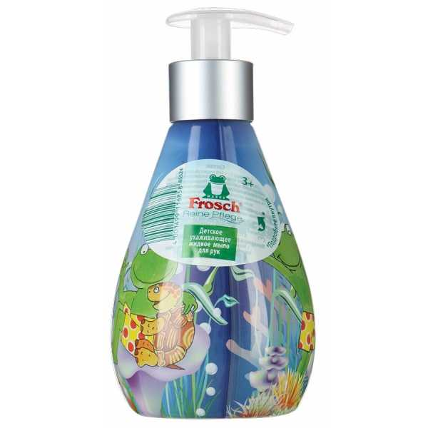 Детское ухаживающее жидкое мыло для рук Frosch, 300 мл