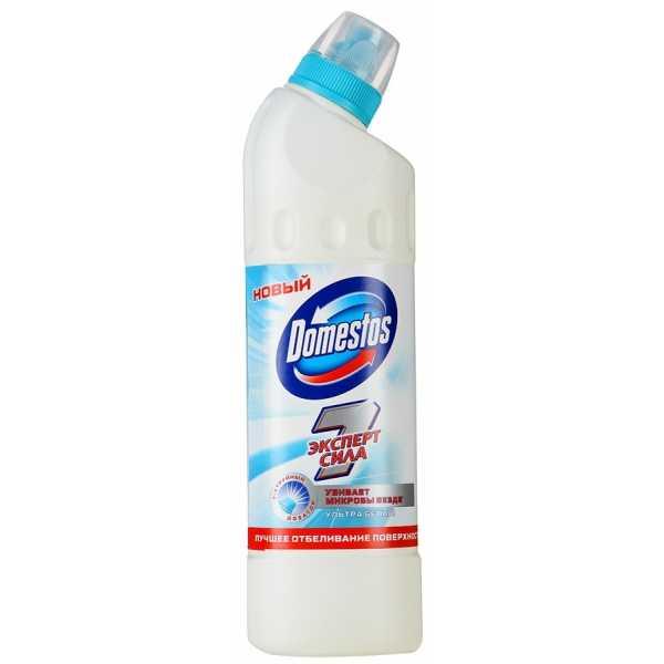 Средство чистящее Domestos Эксперт Сила Ультра белый, 500 мл