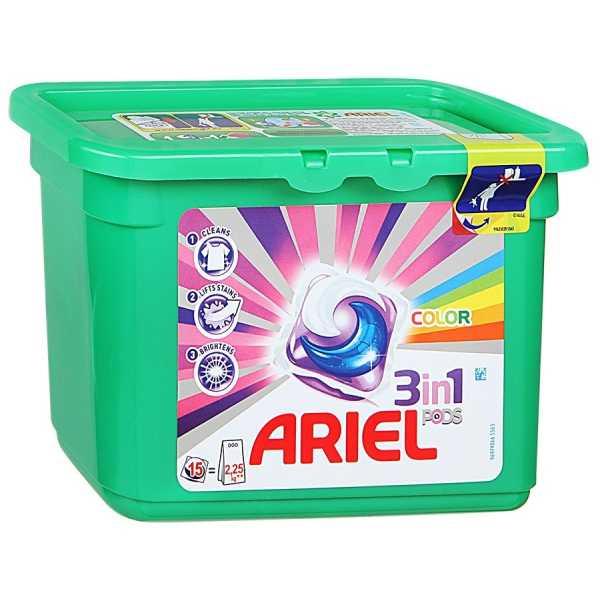 Гель в капсулах Ariel Pods 3в1 Color, 13 шт