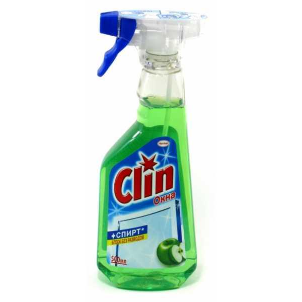 """Средство для мытья стекол Clin """"Яблоко"""", 500 мл"""