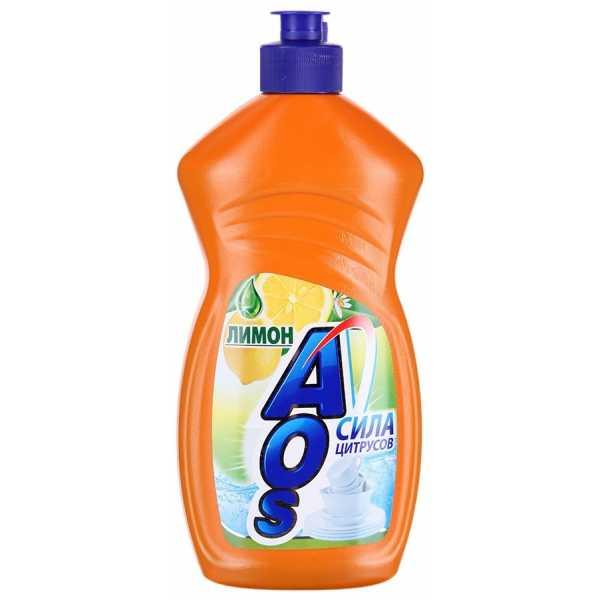 "Средство для мытья посуды Aos ""Лимон"", 500 мл"