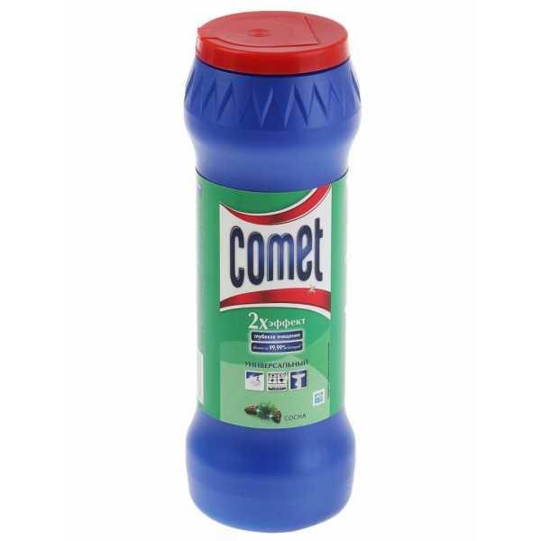 """Порошок чистящий Comet """"Сосна"""", универсальный, 475 гр"""