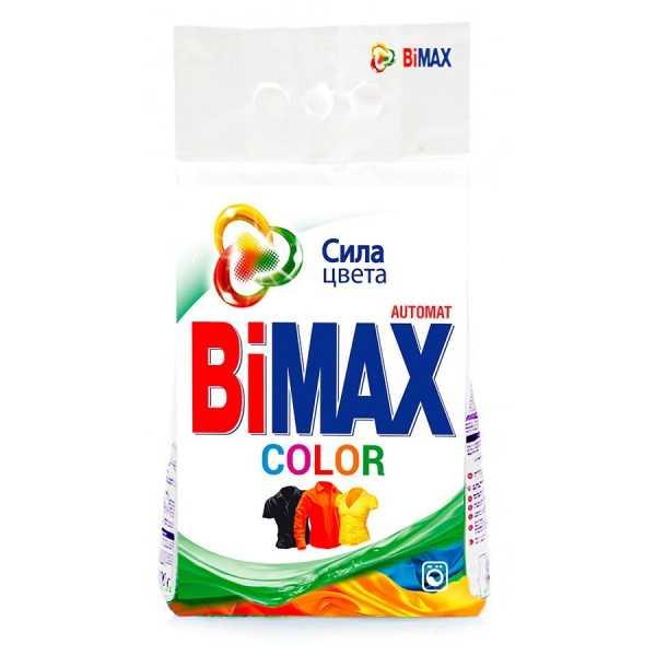 Стиральный порошок Bimax Color, автомат, 3 кг