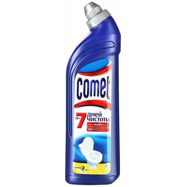 """Средство чистящее Comet """"Лимон"""", для унитаза, 750 мл"""