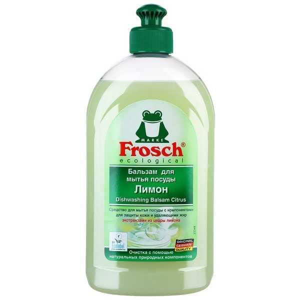 """Бальзам для мытья посуды Frosch """"Лимон"""", 500 мл"""