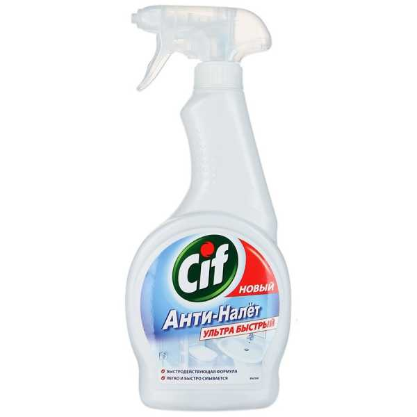 """Средство чистящее CIF для ванной """"Анти-налет"""", 500 мл"""