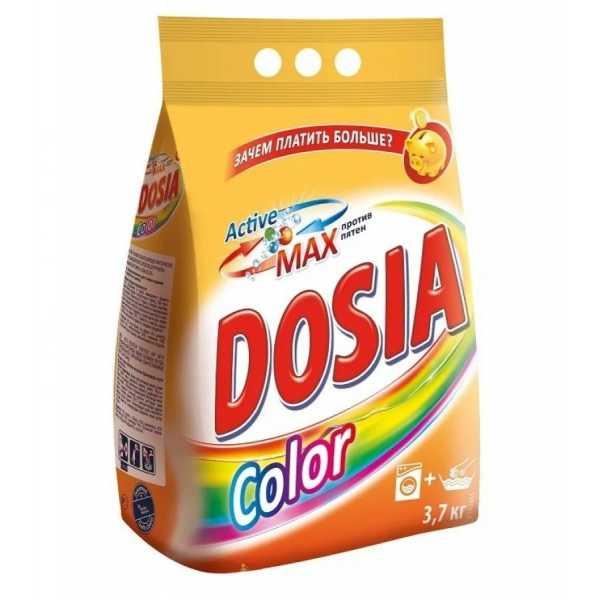 Стиральный порошок Dosia Color актив, 3,7 кг