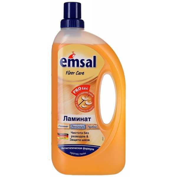 Средство Emsal Laminate для ухода за ламинированным полом, 1 л