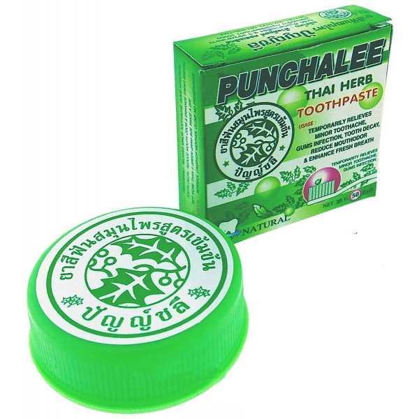 Растительная зубная паста Punchalee Herbal Toothpaste 25 гр