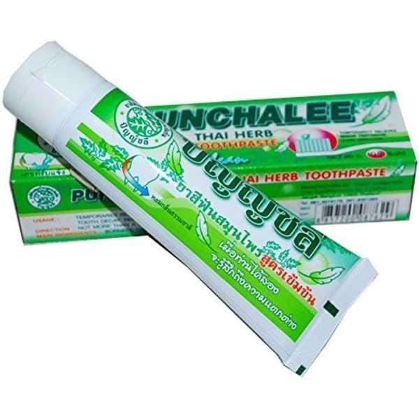 Органическая зубная паста с тайскими травами Punchalee Herbal Toothpaste 80 гр
